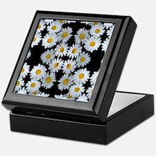 90s vintage floral Keepsake Box