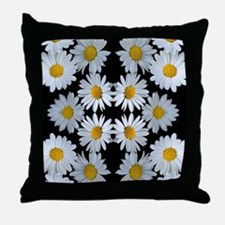 90s vintage floral Throw Pillow