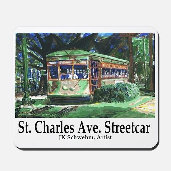 St. Charles Streetcar Mousepad