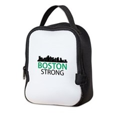 Boston Strong - Skyline Neoprene Lunch Bag