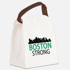 Boston Strong - Skyline Canvas Lunch Bag