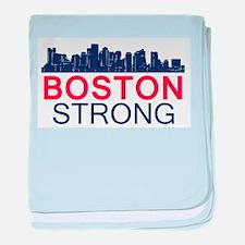 Boston Strong - Skyline baby blanket