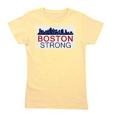 Boston Strong - Skyline Girl's Tee