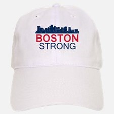 Boston Strong - Skyline Baseball Baseball Cap