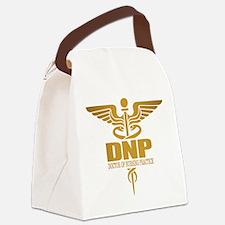 DNP gold Canvas Lunch Bag