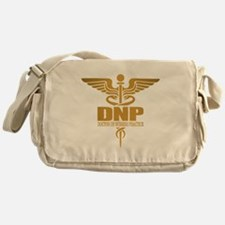 DNP gold Messenger Bag