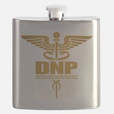 DNP gold Flask