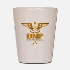 DNP gold Shot Glass