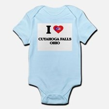 I love Cuyahoga Falls Ohio Body Suit