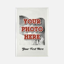 CUSTOM 8x10 Photo and Text Magnets