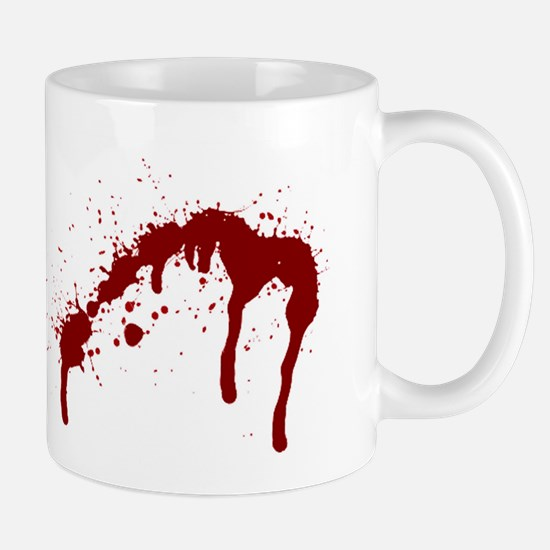 blood splatter 6 Mugs