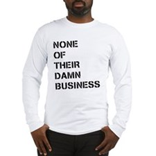 NOTDB Long Sleeve T-Shirt
