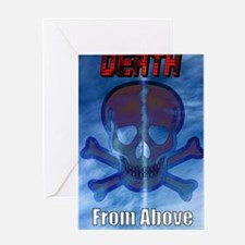 Cute Death from above Greeting Card