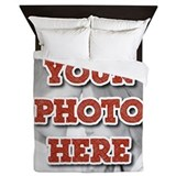 Custom photo Queen Duvet Covers