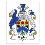 Rigley Family Crest Small Poster