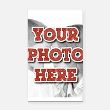 CUSTOM Your Photo Here Rectangle Car Magnet