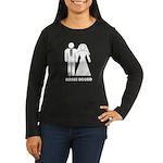 Bonus Round Women's Long Sleeve Dark T-Shirt