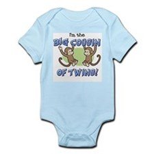 Cute Boy big cousin Infant Bodysuit