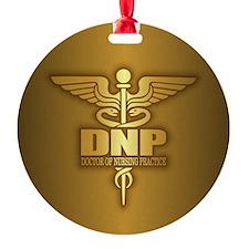 DNP gold Ornament