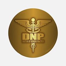 DNP gold Button