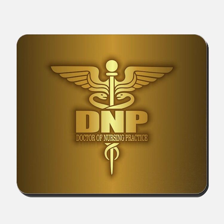 DNP gold Mousepad