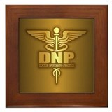 Doctor of nursing practice Framed Tiles