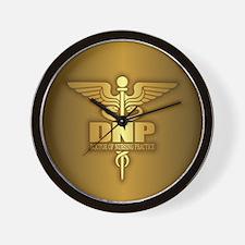 DNP gold Wall Clock