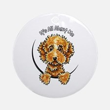 Cockapoo Tan IAAM Ornament (Round)