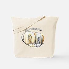 Lhasa Apso IAAU Tote Bag