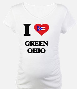 I love Green Ohio Shirt