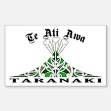 Te Ati Awa - Taranaki Rectangle Decal