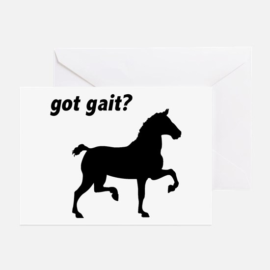 Got Gait Gaited Horse Greeting Cards (Pk of 10)