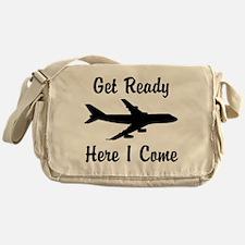 Here I Come Messenger Bag