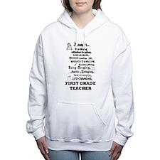Cute First grade Women's Hooded Sweatshirt