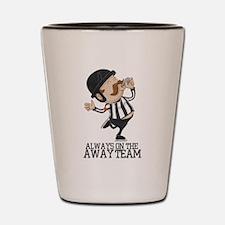 Referee Shot Glass