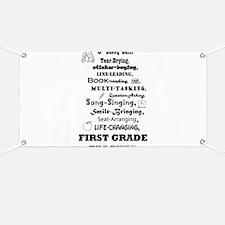 Cute Kindergarten Banner