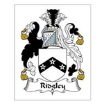 Ridgley Family Crest Small Poster