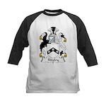 Ridgley Family Crest Kids Baseball Jersey