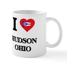 I love Hudson Ohio Mug
