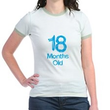 18 Months Old Baby Milestones T-Shirt