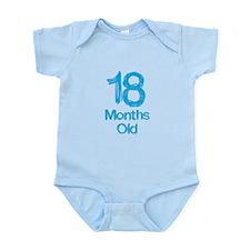 18 Months Old Baby Milestones Body Suit