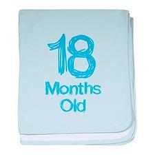 18 Months Old Baby Milestones baby blanket