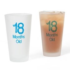 18 Months Old Baby Milestones Drinking Glass