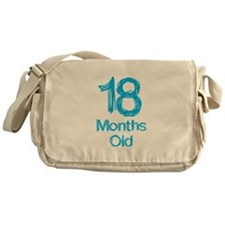 18 Months Old Baby Milestones Messenger Bag