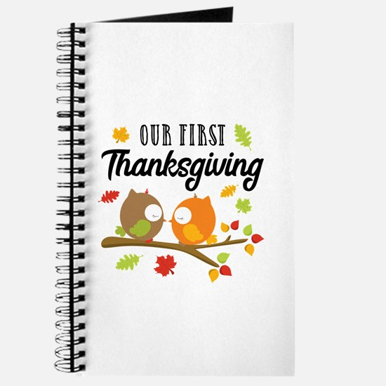 Our First Thanksgiving Journal