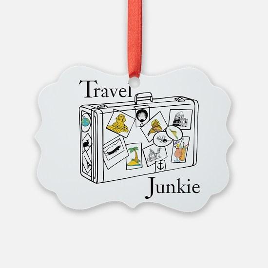 Travel Junkie Ornament