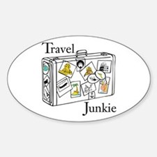 Travel Junkie Decal