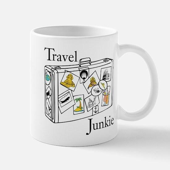 Travel Junkie Mugs