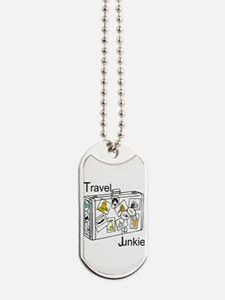 Travel Junkie Dog Tags
