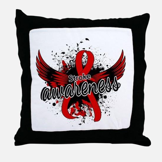 Stroke Awareness 16 Throw Pillow